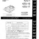 Aiwa 4ZG-1T Service Manual. Mauritron #1111