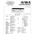 Aiwa AD-6700 Service Manual. Mauritron #1112