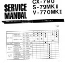 Aiwa CP-790 Service Manual. Mauritron #1121