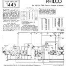 Philco 102 Trader Service Schematics. Mauritron #1163