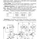 Philco 200 Trader Service Schematics. Mauritron #1165
