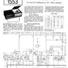 Philco 84 Trader Service Schematics. Mauritron #1184