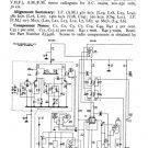 Philco 92 Trader Service Schematics. Mauritron #1185