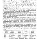 Philco CR3692A Trader Schematics. Mauritron #1211