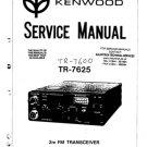 Kenwood TR7625 Service Manual. Mauritron #1264