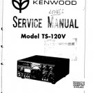 Kenwood TS120V Service Manual. Mauritron #1268