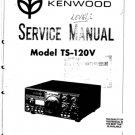 Trio TS120V Service Manual. Mauritron #1346
