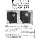 Philips GM3152 Service Manual. Mauritron #1382