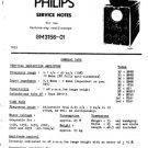 Philips GM3156 Service Manual. Mauritron #1383