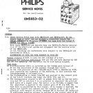 Philips GM5653 Service Manual. Mauritron #1384