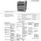 Sony HCD-V909AV Service Manual. Mauritron #1482
