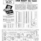 Ever Ready SKY TOURER Schematics. Mauritron #1613