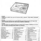 Hitachi DAP100 Service Manual. Mauritron #1627