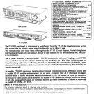 Hitachi FTD100 Service Manual. Mauritron #1633