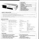 Hitachi HAM70 Service Manual. Mauritron #1639