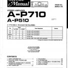 Pioneer AP710 Service Manual. Mauritron #1676