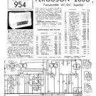 Ferguson 208U Service Information. Mauritron #1699