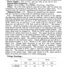 Ferguson 351U Service Information. Mauritron #1751