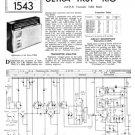 Ultra TR81 Vintage Service Schematics. Mauritron #1807