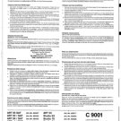 Loewe C9001 Service Manual. Mauritron #2119
