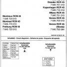 Blaupunkt Verona RCR45 Service Manual Mauritron #2268