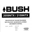 Bush 2159NTX Service Manual Mauritron #2295