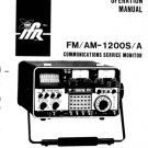 IFR AM1200S Operating Guide Mauritron #2467