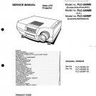 Sanyo PLC550 Service Manual Mauritron #2481