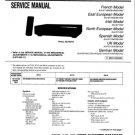 Sony SLVE710 Service Manual Mauritron #2487