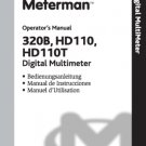 Wavetek 320B Operating Guide Mauritron #2765