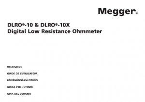 AVO DLRO10X Instructions. Mauritron #2800