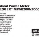 Olman Instruments MPM2000 Instructions. Mauritron #3159