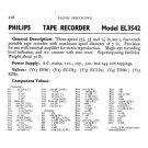Philips EL3542 Service Schematics. Mauritron #3256