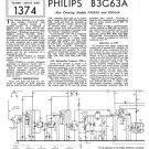 Philips F5G62A Service Schematics. Mauritron #3260