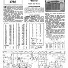 Philips L2G43T Service Schematics. Mauritron #3267