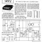 Philips N4G93VT Service Schematics. Mauritron #3281