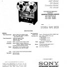 Sony TC765 Service Manual. Mauritron #3355