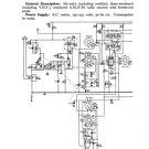 HMV 1128 Vintage Service Schematics Mauritron #3401
