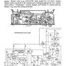 HMV 1370 Vintage Service Schematics Mauritron #3412