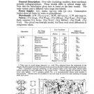 HMV 1507 Vintage Service Schematics Mauritron #3428