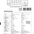 Akai AMM830 Service Manual. Mauritron #3493