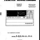 Akai F3L Service Manual. Mauritron #3504