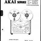 Akai GX646 Service Manual. Mauritron #3511