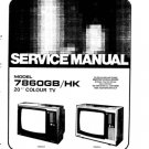 JVC 7860GB Service Manual. Mauritron #3582
