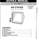 JVC AV21H1EK Service Manual. Mauritron #3584