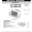 JVC AV28GS1EK Service Manual. Mauritron #3588