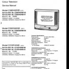 Sanyo C21EF45NB Service Manual. Mauritron #3660