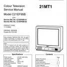 Sanyo C21EF95B Service Manual. Mauritron #3661