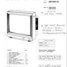 Sanyo CBP2558 Service Manual. Mauritron #3676