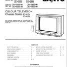 Sanyo CBP2566 Service Manual. Mauritron #3679